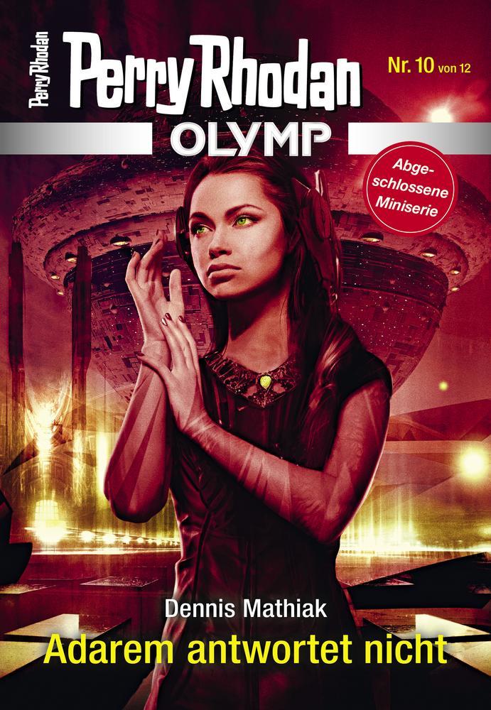 Cover OLYMP 10 »Adarem antwortet nicht«