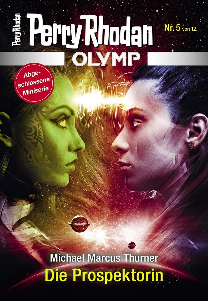 Cover OLYMP 5 »Die Prospektorin«
