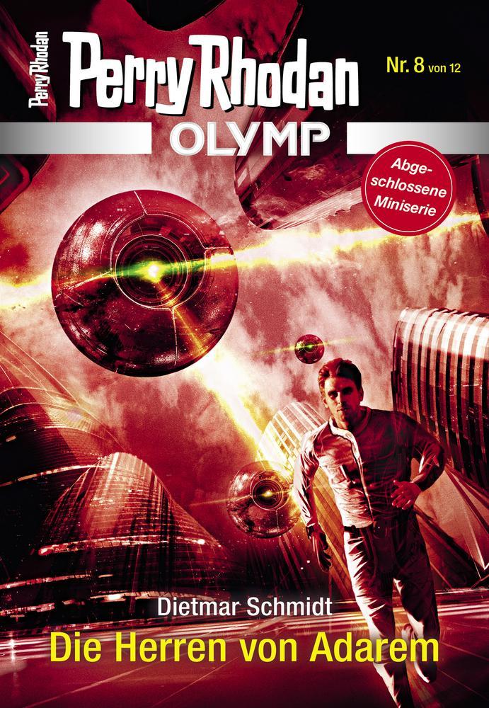 Cover OLYMP 8 »Die Herren von Adarem«