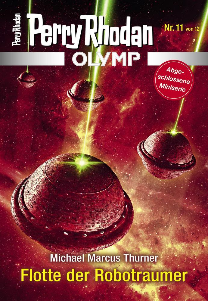 Cover OLYMP 11 »Flotte der Robotraumer«